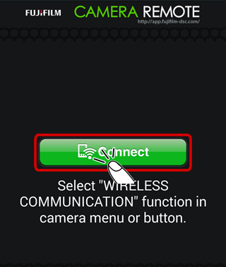 Connecting to the Camera from an Android Device