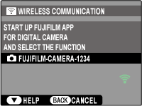Connecting to the Camera from an iPhone, iPad, or iPod Touch